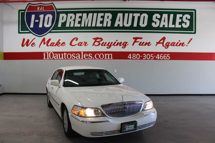 Sold 2011 Lincoln Town Car Signature Limited In Phoenix