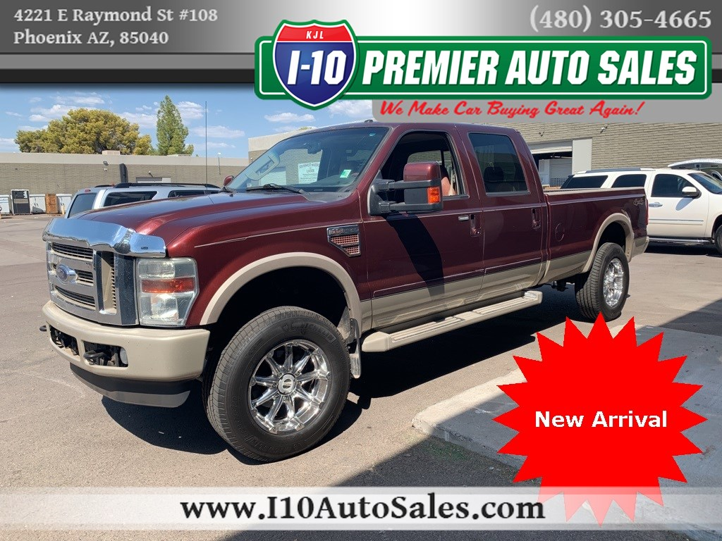 2010 Ford Super Duty F-350 SRW King Ranch