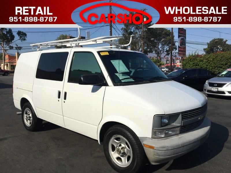 Sold 2005 Chevrolet Astro Cargo Van In Corona