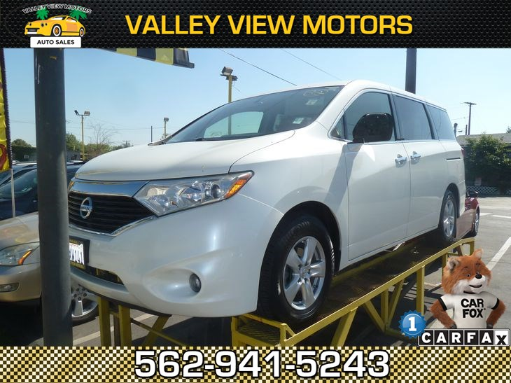 Sold 2012 Nissan Quest SV in Whittier