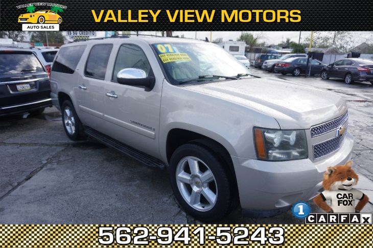 2007 Chevrolet Suburban LTZ - 1 Owner, Low Miles, 3rd Row Seat, NAVI, DVD