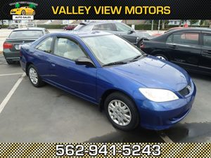 View 2005 Honda Civic Cpe