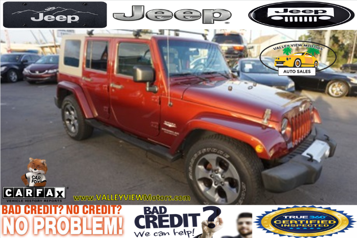 2008 Jeep Wrangler Unlimited Sahara - 1 Owner, Low Miles, Roof Rack
