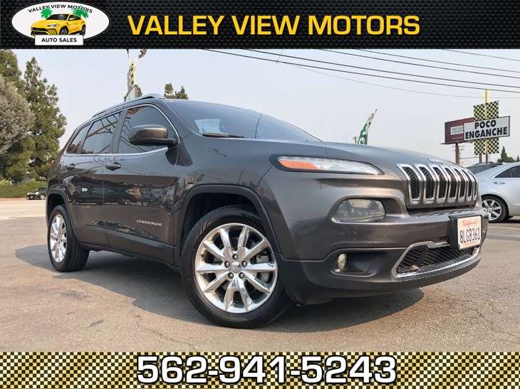 2014 Jeep Cherokee Limited, Leather, Backup Cam