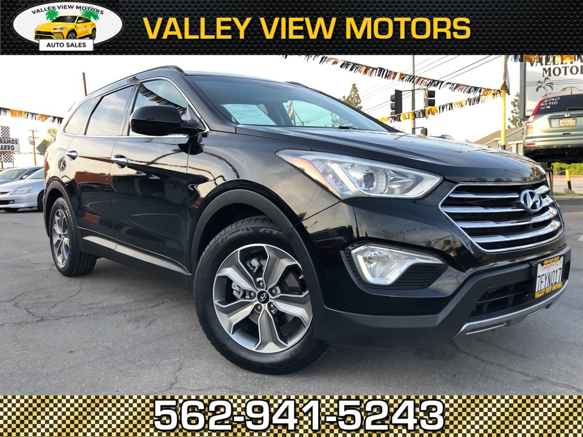 2014 Hyundai Santa Fe GLS Backup Camera, 3RD Row Seat, Premium Wheels