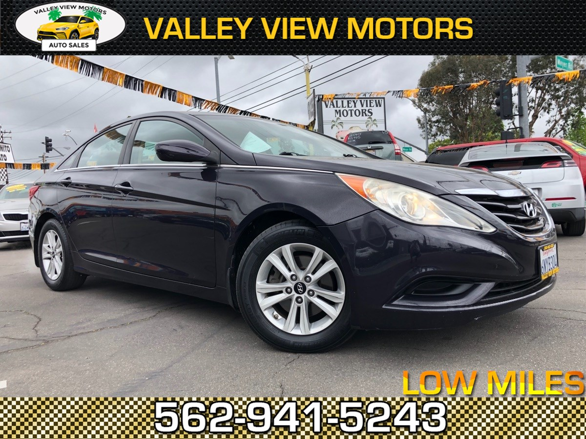 2011 Hyundai Sonata GLS PZEV Navi, Leather, Low 75k Miles, 4 Cyls.