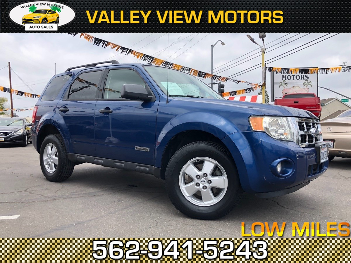 2008 Ford Escape Sun Roof, 4 Cyls. Low Down Pay! XLT