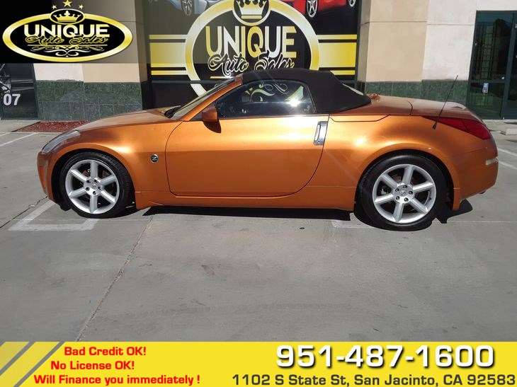 Used 2004 Nissan 350z Enthusiast In San Jacinto
