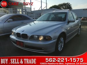View 2002 BMW 5 Series