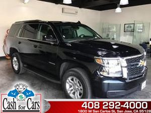2015 Chevrolet Tahoe LT Carfax 1-Owner - No AccidentsDamage Reported  Black  All advertised p