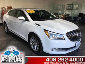 2016 Buick LaCrosse Leather Carfax Report - No AccidentsDamage Reported  Summit White  All ad