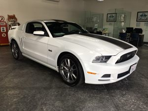 2014 Ford Mustang GT Premium Carfax 1-Owner - No AccidentsDamage Reported  Oxford White  All