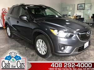 2014 Mazda CX-5 Touring Carfax 1-Owner  Meteor Gray Mica  All advertised prices exclude govern