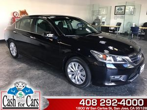 2013 Honda Accord Sdn EX Carfax 1-Owner  Crystal Black Pearl  All advertised prices exclude go