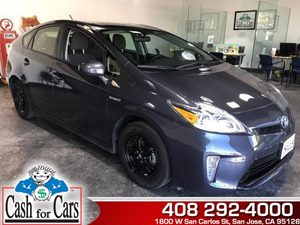 2015 Toyota Prius Two Carfax Report  Winter Gray Metallic  All advertised prices exclude gover