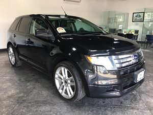 2010 Ford Edge Sport Carfax Report - No AccidentsDamage Reported  Tuxedo Black Metallic  All