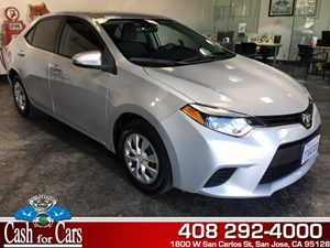 2014 Toyota Corolla L Carfax 1-Owner - No AccidentsDamage Reported  Classic Silver Metallic