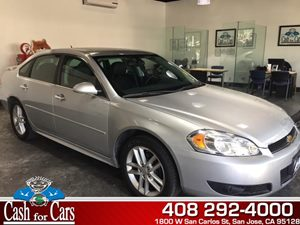 2014 Chevrolet Impala Limited LTZ Carfax 1-Owner  Silver Ice Metallic  All advertised prices e