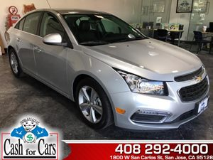 2015 Chevrolet Cruze LT Carfax Report - No AccidentsDamage Reported  Silver Ice Metallic  All