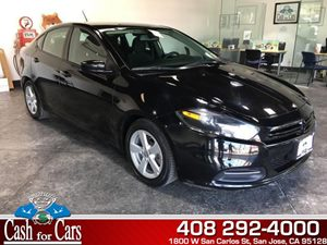 2015 Dodge Dart SXT Carfax 1-Owner - No AccidentsDamage Reported  Pitch Black Clearcoat  All