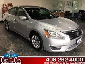 2014 Nissan Altima 25 S Carfax 1-Owner - No AccidentsDamage Reported  Brilliant Silver Metall