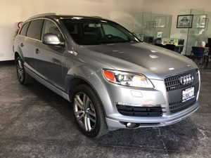2007 Audi Q7  Carfax Report  Condor Gray Metallic  All advertised prices exclude government fe