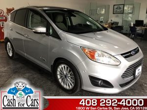 2013 Ford C-Max Energi SEL Carfax 1-Owner - No AccidentsDamage Reported  Ingot Silver Metallic