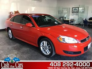 2013 Chevrolet Impala LTZ Carfax Report - No AccidentsDamage Reported  Victory Red  All adver
