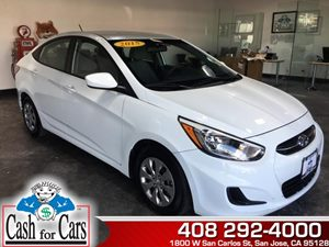 2015 Hyundai Accent GLS Carfax 1-Owner  Century White  All advertised prices exclude governmen