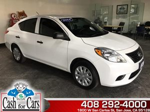 2014 Nissan Versa S Carfax 1-Owner - No AccidentsDamage Reported  Fresh Powder  All advertise