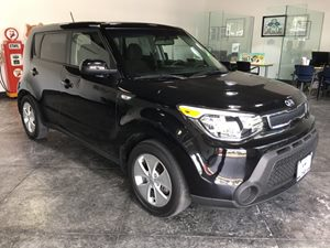 2014 Kia Soul Base Carfax 1-Owner - No AccidentsDamage Reported  Shadow Black  All advertised