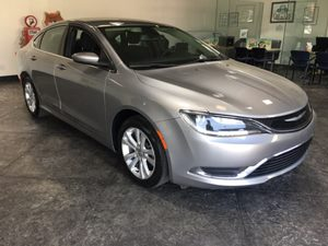 2015 Chrysler 200 Limited Carfax 1-Owner - No AccidentsDamage Reported  Billet Silver Metallic