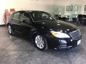 2013 Chrysler 200 LX Carfax Report - No AccidentsDamage Reported  Black  All advertised price