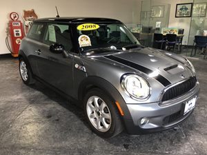 2008 MINI Cooper Hardtop S Carfax Report - No AccidentsDamage Reported  Dark Silver Metallic