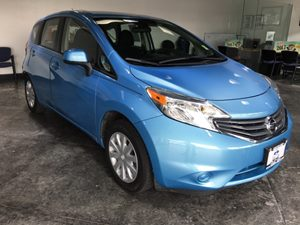 2014 Nissan Versa Note S Plus Carfax 1-Owner  Morningsky Blue Metallic  All advertised prices