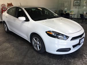 2015 Dodge Dart SXT Carfax 1-Owner  Bright White Clearcoat  All advertised prices exclude gove