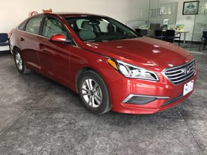 2016 Hyundai Sonata 24L SE Carfax 1-Owner  Venetian Red  All advertised prices exclude govern