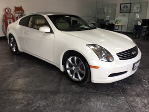 2005 INFINITI G35 Coupe  Carfax Report - No AccidentsDamage Reported  Ivory Pearl  All advert