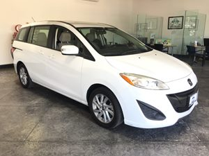 2014 Mazda Mazda5 Sport Carfax Report - No AccidentsDamage Reported  Crystal White Pearl  All
