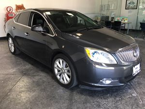 2013 Buick Verano Leather Group Carfax Report - No AccidentsDamage Reported  Cyber Gray Metall