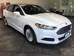 2013 Ford Fusion SE Hybrid Carfax 1-Owner - No AccidentsDamage Reported  Oxford White  All ad
