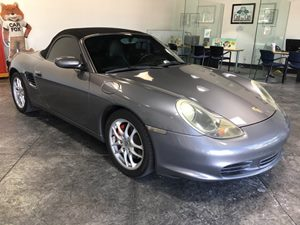 2003 Porsche Boxster S Carfax Report - No AccidentsDamage Reported  Seal Grey Metallic  All a