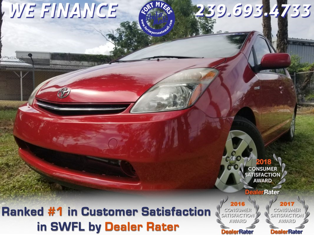 Sold 2008 Toyota Prius In Fort Myers
