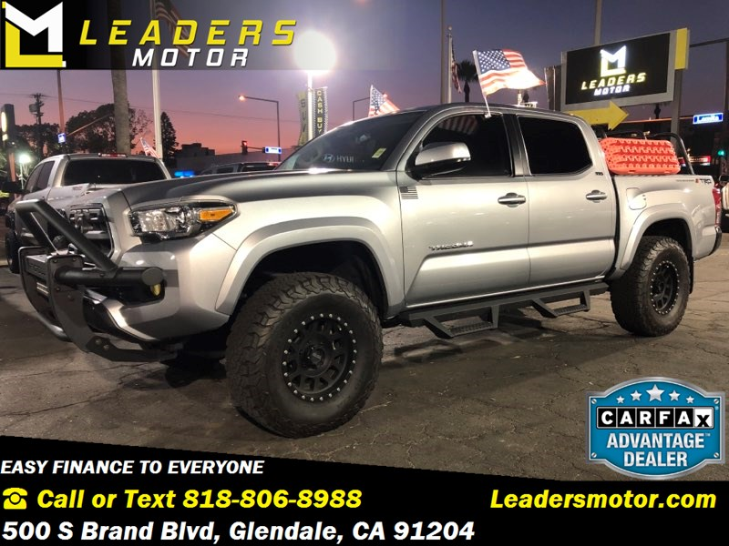2017 Toyota Tacoma Lifted >> Sold 2017 Toyota Tacoma Sr5 Lifted Bilstein Custom In Glendale