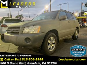 View 2001 Toyota Highlander
