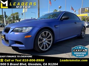 View 2011 BMW M3 Matte Blue 3M Wrap