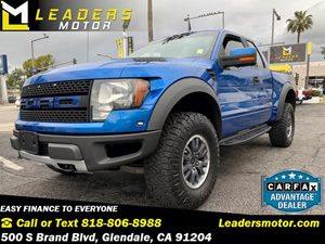 View 2010 Ford F-150 Raptor 4X4 V8 Like New