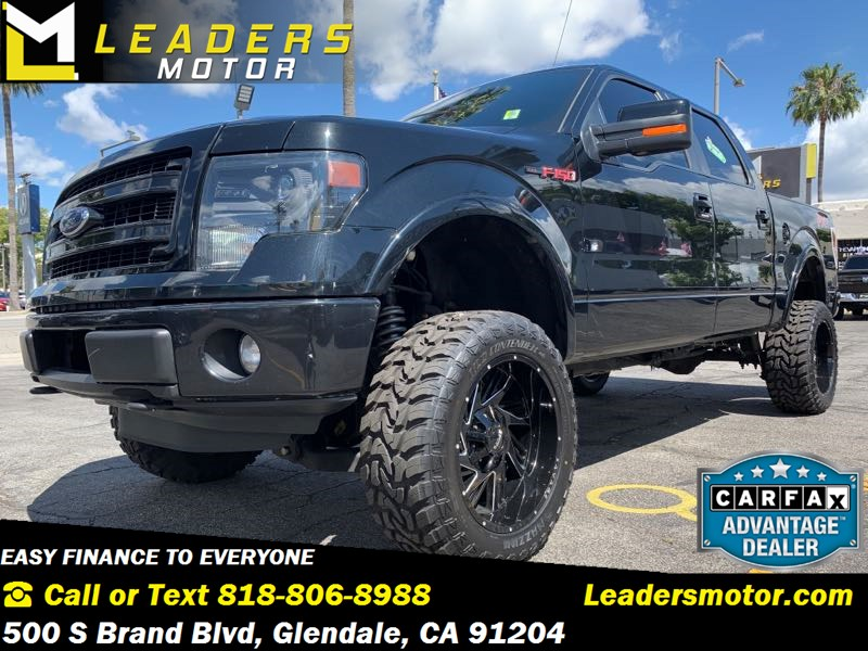 2013 Ford F-150 FX4 4X4 FX4 Lifted