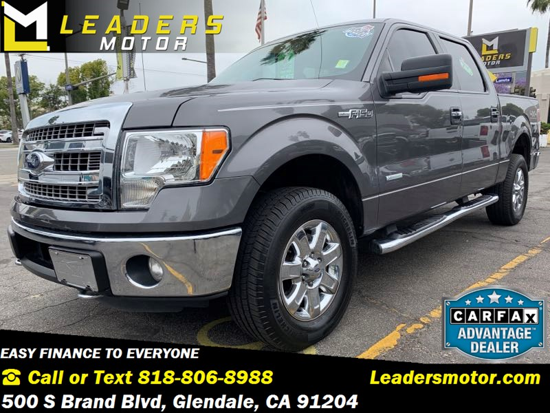 2013 Ford F-150 4X4 Ecoboost XLT