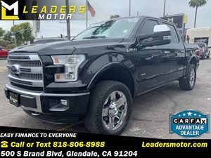 View 2015 Ford F-150 Platinum 4x4